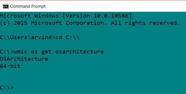 Check OS Version