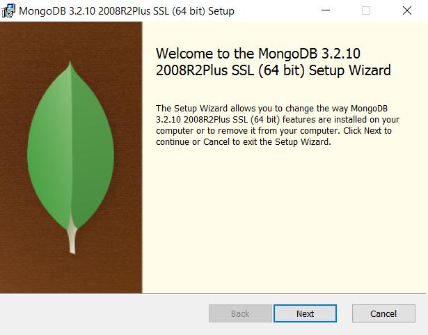 MongoDB Installation on Windows